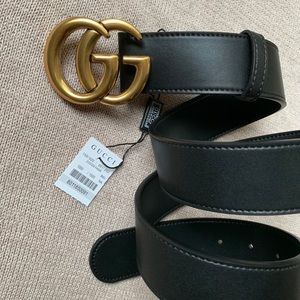 lNew Gucci Belt Authentïć Double G Marmot GG